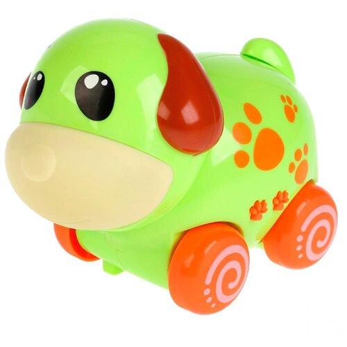 Фото - Каталка-игрушка Умка Щенок (ZY238308-R) зеленый игрушка для ванной умка бегемотик b1410463 r красный желтый зеленый