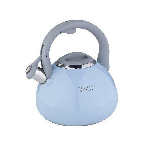 Чайник из нержавеющей стали Zeidan Z-4250 3 л голубой