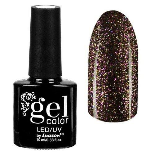 Фото - Гель-лак для ногтей Luazon Gel color Хамелеон, 10 мл, 016 коричневый гель лак для ногтей luazon gel color termo 10 мл а2 076 пурпурный перламутровый