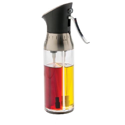 Распылитель-дозатор для масла и уксуса/ Емкость для масла/ Диспенсер для масла / Двойной