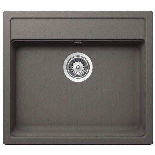 Фото - Врезная кухонная мойка 57 см Schock Vero N-100 серебристый камень врезная кухонная мойка 45 см schock soho n 100s серебристый камень
