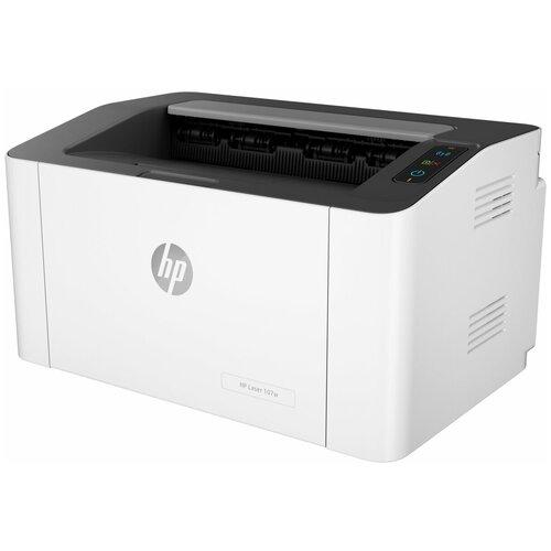 Фото - Принтер HP Laser 107w, белый/черный принтер hp laser 107r белый