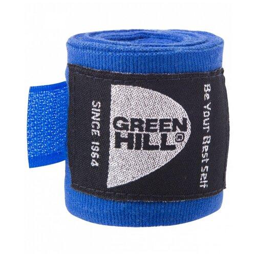 Кистевые бинты Green hill BC-6235c 3,5 м синий