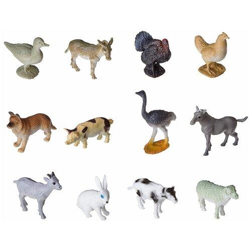Фото - Игровой набор BONDIBON Ребятам о зверятах - Животные фермы ВВ2368 набор животные фермы schleich набор животные фермы