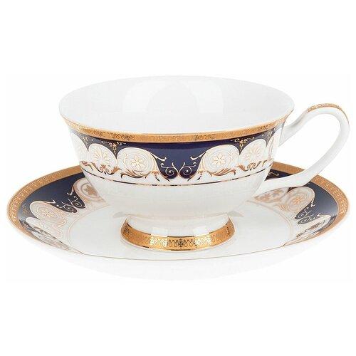 набор чайный best home porcelain indigo 200 мл 4 предмета Набор чайных пар Best Home Porcelain Indigo подарочная упаковка, 200 мл, 4 предм., 2 персоны