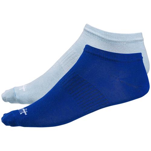 Носки низкие Starfit SW-205, ультрамарин/небесно-голубой, 2 пары (35-38)