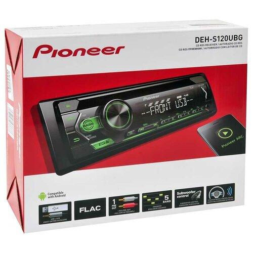 PIONEER Автомагнитола PIONEER DEH-S120UBG