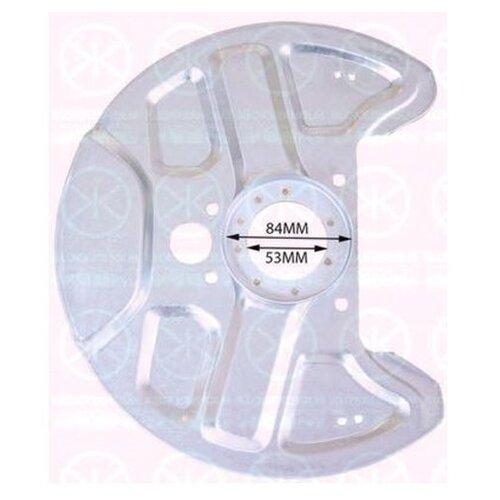 Защита тормозного диска Klokkerholm 9040371 для Volvo 740, 760, 940 II, 960