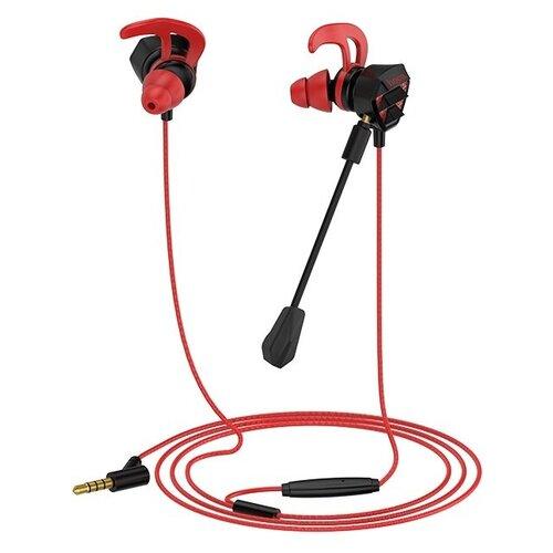Компьютерная гарнитура Hoco M45 черный/красный