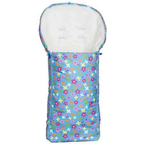 Купить Конверт-мешок Чудо-Чадо меховой Комфорт 92 см цветочки, Конверты и спальные мешки