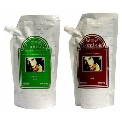 Lombok система для ламинирования волос Original Set Natural Brown