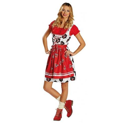 Платье с эмблемами ФК 'Кёльн', размер 48.