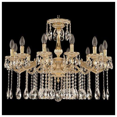 Люстра Bohemia Ivele Crystal 75102/12/250 A GW, E14, 480 Вт люстра bohemia ivele crystal 1771 12 340a gw