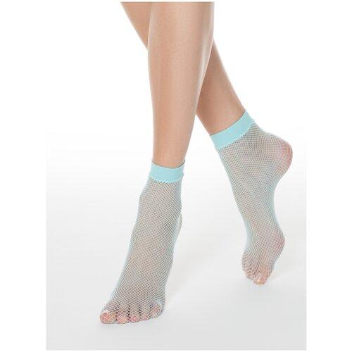 Капроновые носки Conte Elegant 17С-177СП, размер 23-25, turquoise
