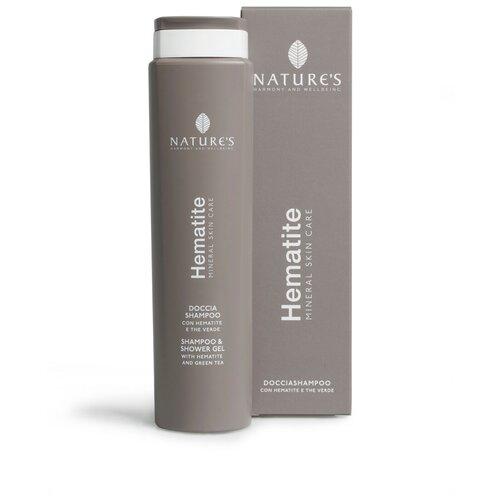 Купить Шампунь-Гель для душа (2 в 1) для мужчин. рекомендуется для ежедневного использования - Nature's - Hematite Shampoo and Shower Gel 250 мл.