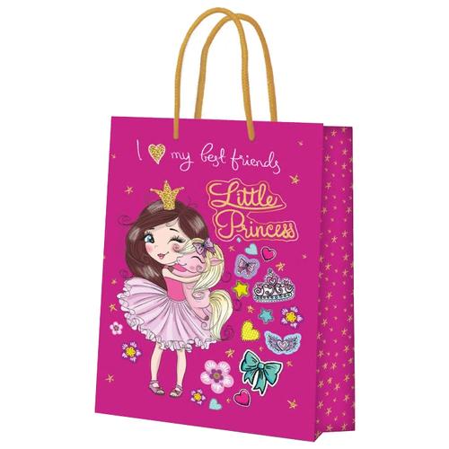 Фото - Пакет подарочный ND Play Принцесса 40.6 x 33.5 x 15.5 см розовый пакет подарочный nd play lol 25 х 35 х 10 см мятный розовый