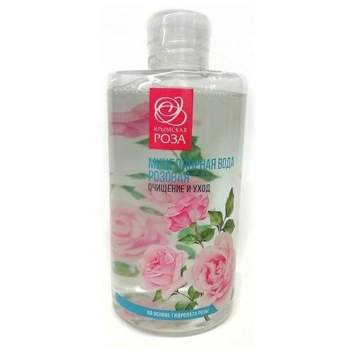 Крымская роза мицеллярная вода на основе гидролата розы, 450 мл