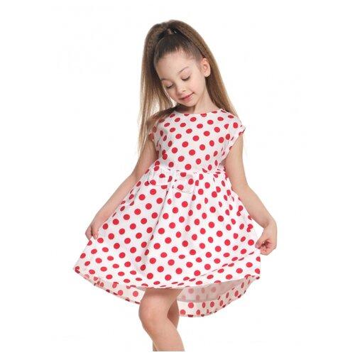 Купить Платье Mini Maxi, 2606, цвет красный, размер 110, Платья и сарафаны