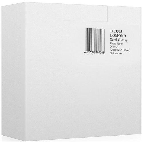 Фото - Бумага Lomond A6 Premium Photo Paper 1103303 260 г/м² 500 лист., ярко-белый бумага lomond a6 0102082 230 г м2 500 лист