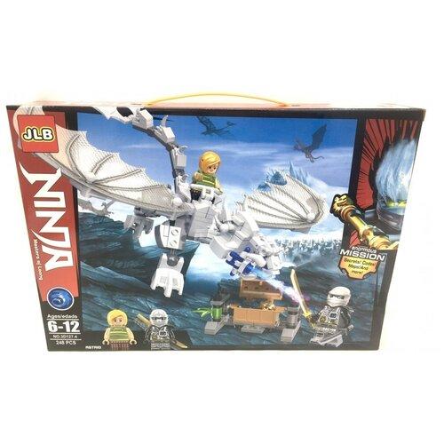 Купить Конструктор JLB Ninja 3D127-4 Ледяной дракон, Конструкторы