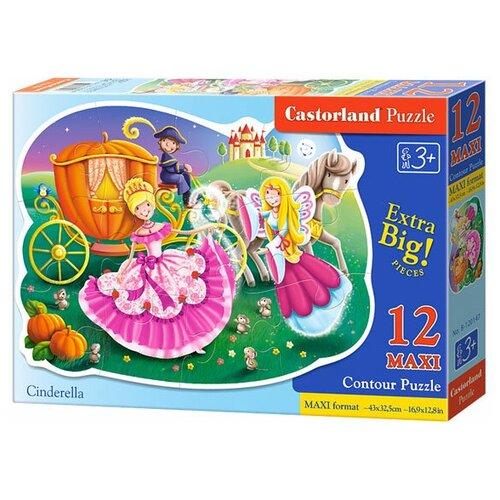 Купить Пазл Castorland Cinderella (B-120147), 12 дет., Пазлы