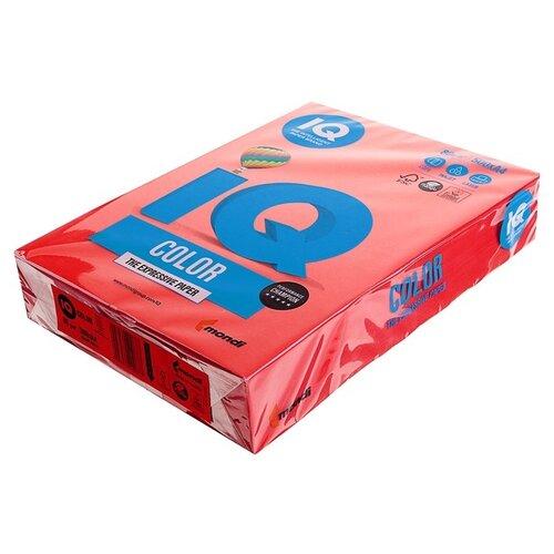 Фото - Бумага цветная А4 500л IQ COLOR, 80г/м2, красный, CO44 1520935 бумага цветная а4 500л iq color 80г м2 желтый zg34 1520958
