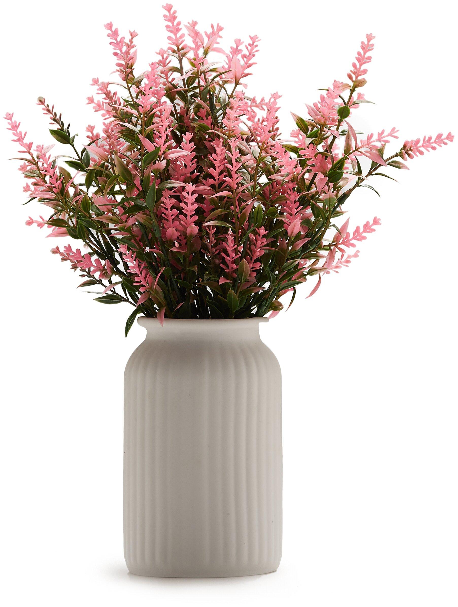 """Букет 3 ветки полевых цветов """"Голоса травы"""" MERSADA (зеленый; розовый) 33 см — купить по выгодной цене на Яндекс.Маркете"""