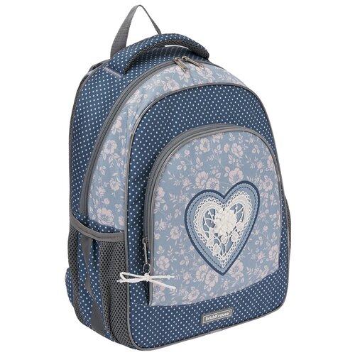 Фото - Ученический рюкзак ErichKrause ErgoLine 15L Lacey Heart ученический ранец erichkrause ergoline 15l drift king