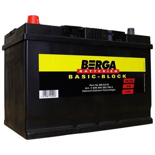 Автомобильный аккумулятор Berga BB-D31R