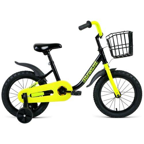 Фото - Детский велосипед FORWARD Barrio 14 (2021) черный (требует финальной сборки) детский велосипед forward barrio 18 2020 красный требует финальной сборки