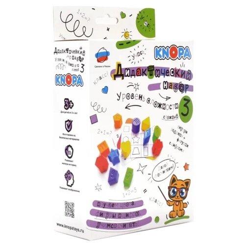 Фото - Обучающий набор Knopa Дидактический набор. Уровень 3 развивающие игрушки knopa дидактический набор мой сад