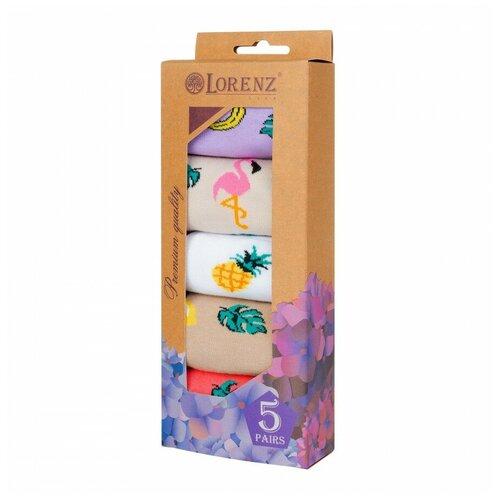 Набор женских носков Р56, размер 25(37-38)