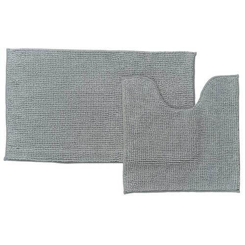 Фото - Набор ковриков для ванной комнаты Iddis 50х80, 50х50 см P38M580i12 242m590i13 набор ковриков для ванной комнаты 60х90 50х50 см микрофибра beige landscape id