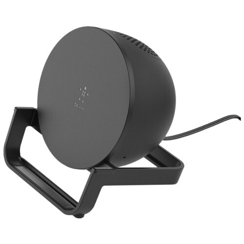 Фото - Беспроводное зарядное устройство с динамиком Belkin AUF001vfBK (Black) зарядное устройство belkin mixit metallic black