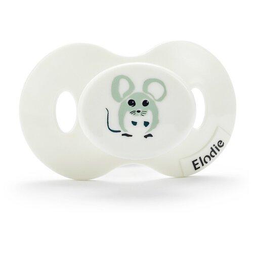Пустышка силиконовая ортодонтическая Forest Mouse Max 3+ м, белый пустышка силиконовая ортодонтическая elodie details hazy jade max 0 6 м зелeный