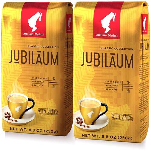 Фото - Юбилейный Классическая Коллекция, кофе в зёрнах, 250 г (1+1) кофе молотый julius meinl юбилейный 250 г