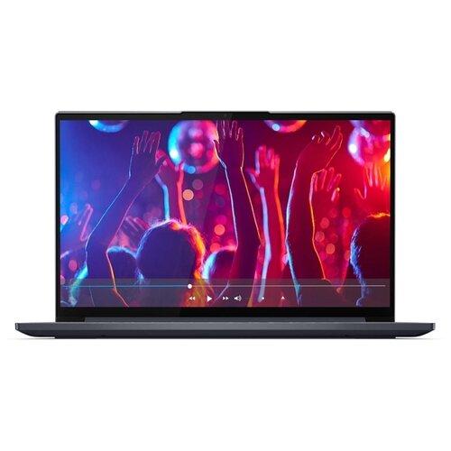 "Ноутбук Lenovo Yoga Slim 7 15 (Intel Core i5 10300H 2500MHz/15.6""/1920x1080/8GB/512GB SSD/NVIDIA GeForce GTX 1650 4GB/Windows 10 Home) 82AB003LRU серый"