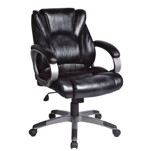 Компьютерное кресло Brabix Eldorado EX-504 для руководителя, обивка: искусственная кожа, цвет: черный