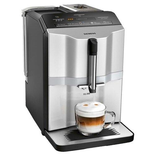Кофемашина Siemens TI353201RW, серебристый/черный