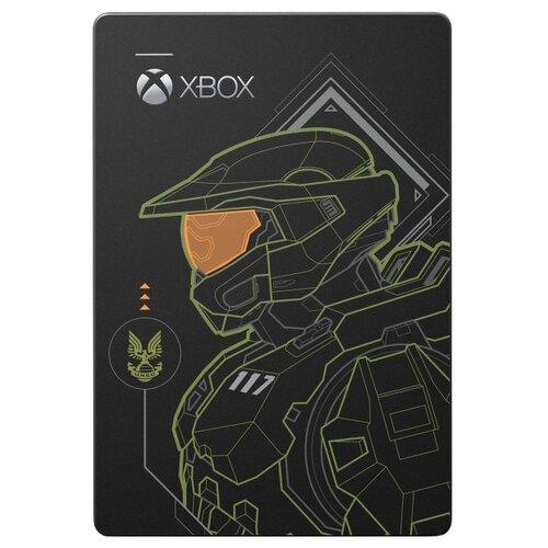 Seagate Внешний жесткий диск Game Drive Halo Master Chief Edition для Xbox 2 ТБ (STEA2000431) черный