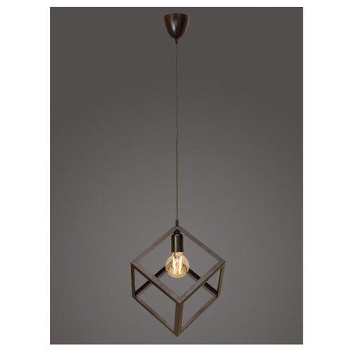 Подвесной светильник Северный свет Куб, венге