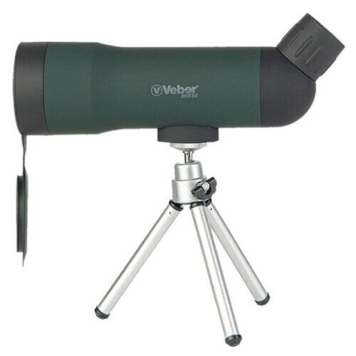 Фото - Зрительная труба Veber 20x50 зеленая зрительная труба veber snipe super 20 60x80 gr zoom