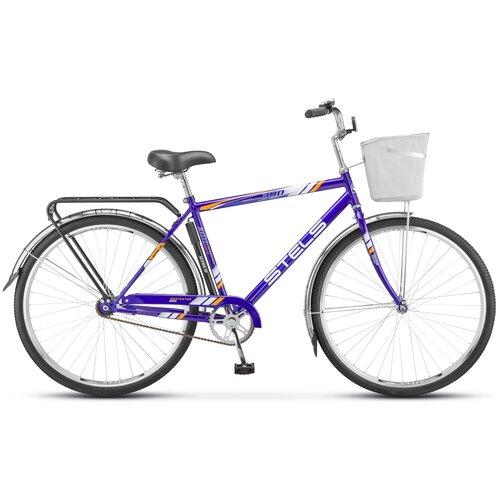 """Городской велосипед STELS Navigator 300 Gent 28 Z010 (2021) синий 20"""" (требует финальной сборки)"""