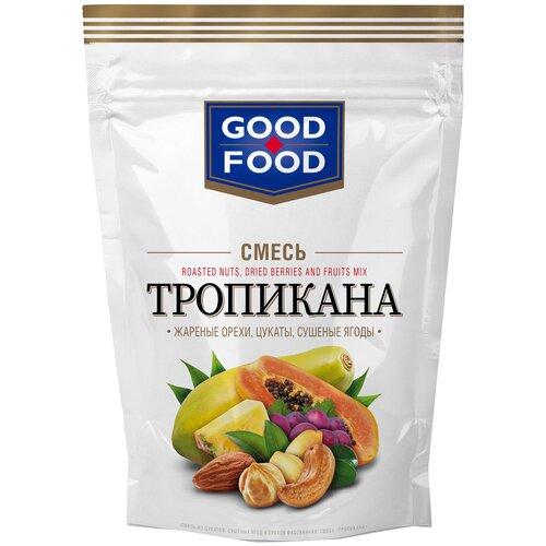 Смесь орехов, сухофруктов и цукатов GOOD FOOD Тропикана 130 г