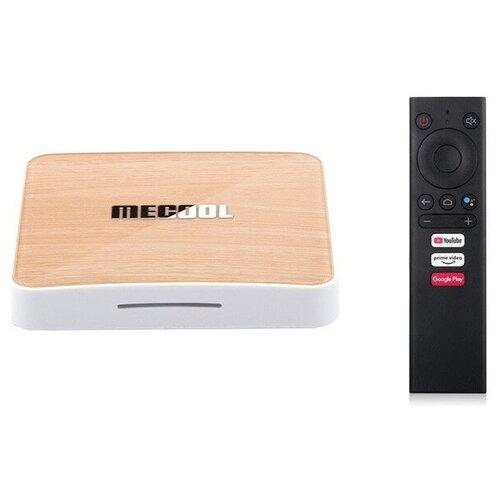 Фото - ТВ-приставка Mecool KM6 Deluxe 4/64Gb, Amlogic S905X4 тв приставка tanix tx6s 4 64gb черный