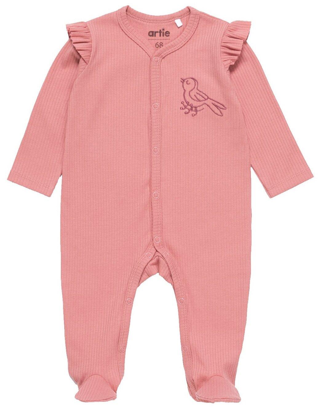 Купить Комбинезон artie размер 80, розовый по низкой цене с доставкой из Яндекс.Маркета