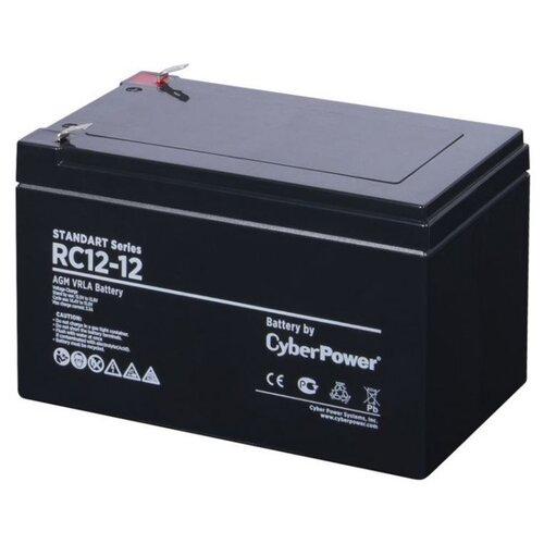 Аккумуляторная батарея CyberPower Standart RC 12-12 12 А·ч