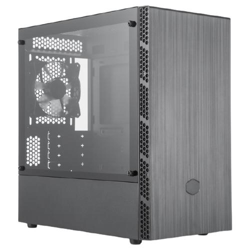 Компьютерный корпус Cooler Master MasterBox MB400L (MCB-B400L-KGNN-S00) w/o PSU Black компьютерный корпус cooler master masterbox k501l rgb mcb k501l kgnn sr1 w o psu black