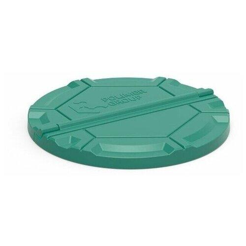 Крышка Роса для бетонных колодцев (зеленая)