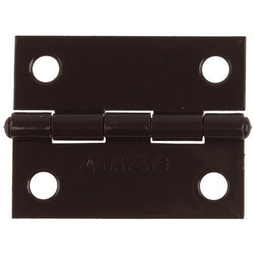 Врезная петля STAYER MASTER универсальная 37611-75 75x50x1.6 мм коричневый 1 шт.